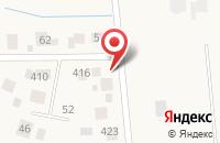Схема проезда до компании Новорижский в Воронино