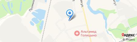 Голицынская средняя общеобразовательная школа №2 на карте Голицыно