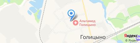 Мастерская по ремонту обуви на Советской на карте Голицыно