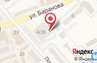 Схема проезда до компании Клевер в Солнечногорске