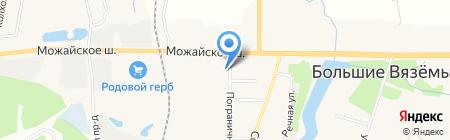 Голицынский пограничный институт ФСБ России на карте Голицыно