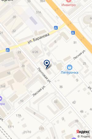 ЦЕНТРАЛЬНЫЙ ТЕЛЕГРАФ на карте Солнечногорска