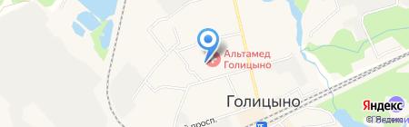 Участковый пункт полиции на карте Голицыно
