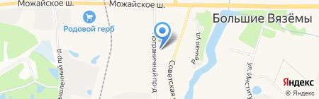 ОДИНЦОВОМЕЖРАЙГАЗ на карте Голицыно