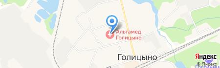 Октябрь на карте Голицыно
