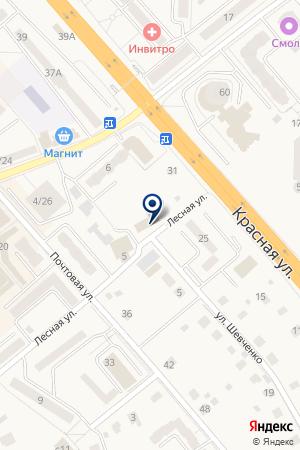 ТАКСОМОТОРНОЕ ПРЕДПРИЯТИЕ РУБИН на карте Солнечногорска