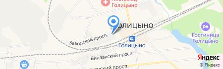 Крестьянский двор на карте Голицыно