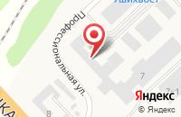 Схема проезда до компании УшиХвост в Юшково