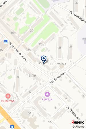 СОЦИАЛЬНО-ДЕЛОВОЙ ЦЕНТР СОЛНЕЧНОГОРСКА на карте Солнечногорска