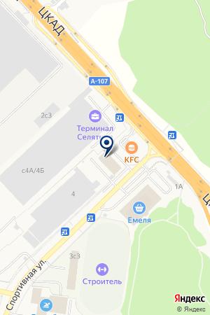 Связной на карте Алабино