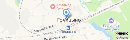 Подсолнух на карте Голицыно