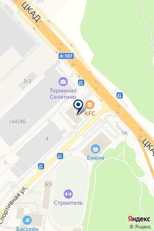 QIWI Post на карте Алабино