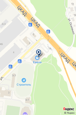 Целитель на карте Алабино