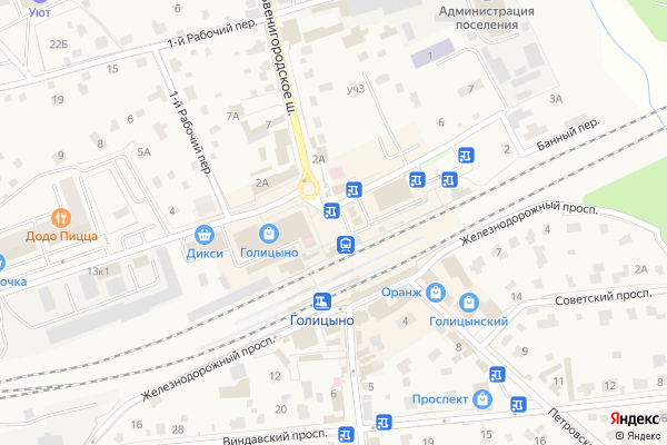 Ремонт телевизоров Город Голицыно на яндекс карте