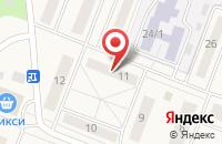 Схема проезда до компании Участковый пункт полиции в Калининце