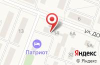 Схема проезда до компании Петровская районная больница №3 в Калининце