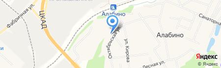 Детский сад №55 на карте Алабино