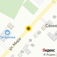 Световой день по адресу Россия, Краснодарский край, Темрюкский район, Сенной, Мира ул.