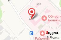 Схема проезда до компании Поликлиника в Юшково