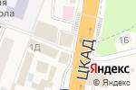 Схема проезда до компании Изба в Калининце