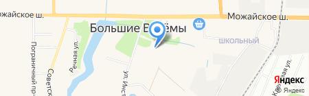 Детский сад №41 на карте Больших Вязёмов