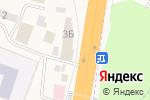 Схема проезда до компании Гостиница в Калининце