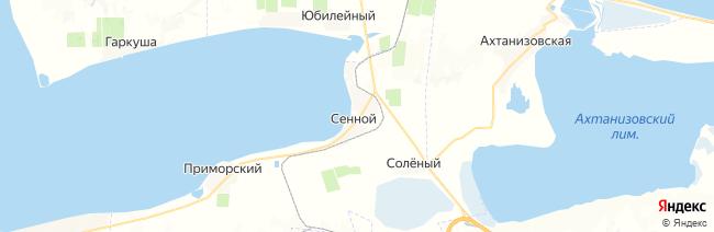 Сенной на карте