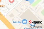 Схема проезда до компании AksMoby в Солнечногорске