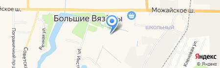 Детский сад №85 на карте Больших Вязёмов