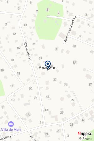 АЗС БУРАН Г.В. на карте Наро-Фоминска