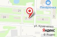Схема проезда до компании София в Лыткино