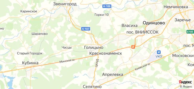 38 автобус в Голицыно