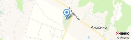 Храм-часовня Тамары Благоверной на карте Аносино