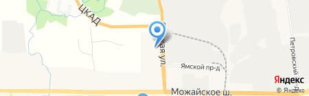 Отдел ГИБДД на карте Больших Вязёмов