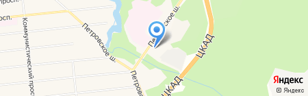 Звенигородское лесничество на карте Голицыно