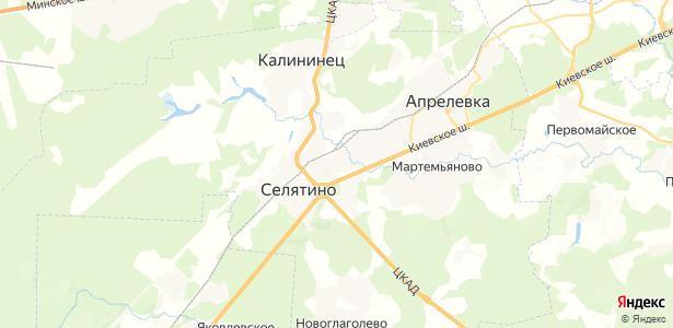 Алабино на карте
