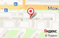 Схема проезда до компании МТС в Малых Вязёмах