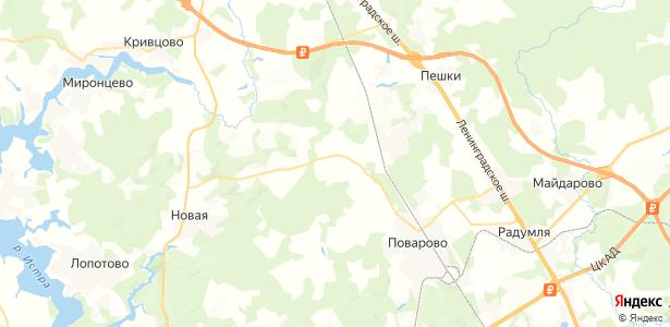 Ростовцево на карте