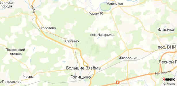 Назарьево на карте