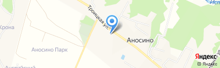 Собор Троицы Живоначальной на карте Аносино