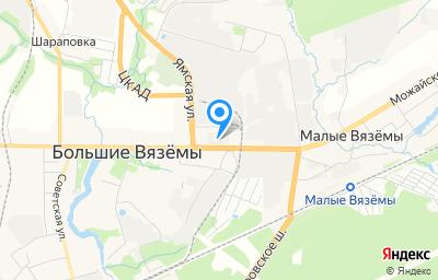 Местоположение на карте пункта техосмотра по адресу Московская обл, г Одинцово, рп Большие Вязёмы, ш Можайское, д 2А