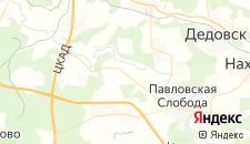 Гостиницы города Аносино на карте