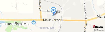 Магазин дверей на карте Больших Вязёмов