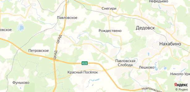 Аносино на карте