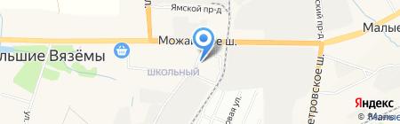 Магазин овощей на карте Больших Вязёмов