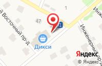 Схема проезда до компании Bianca в Юшково