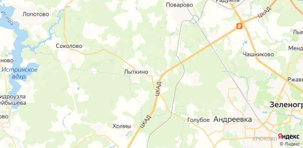 Марьино на карте