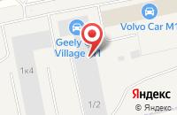 Схема проезда до компании ГЕМА-Трак в Краснознаменске