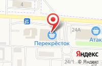Схема проезда до компании Sharys в Таганьково