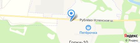 1й выездной шиномонтаж на карте Горок-10